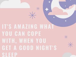 Monday Musings....Changing Your Sleep Patterns for Good!
