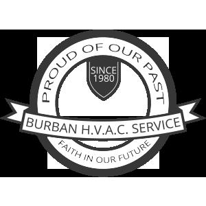 Burban Air Systems Ltd. 40 year anniversary badge