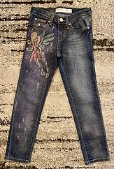 Glitter fairy girly jeans
