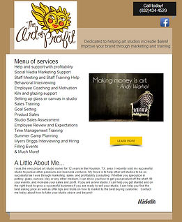 Art of Profit website