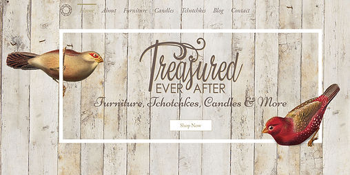 Treasured Ever After website