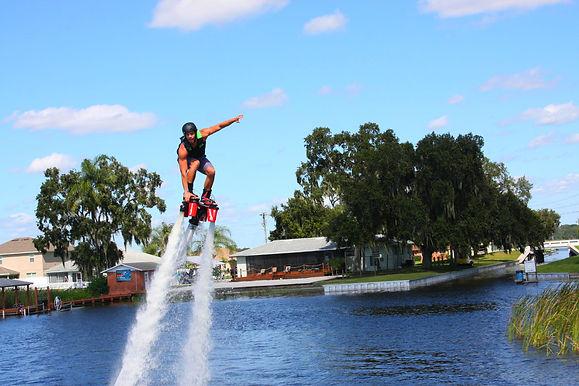 Flyboarding near Orlando, Florida