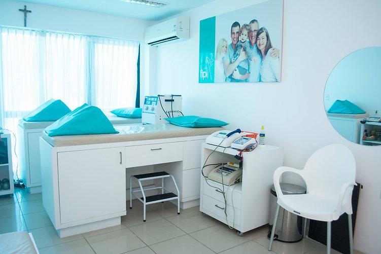Sala de Fisioterapia - Clínica fipi