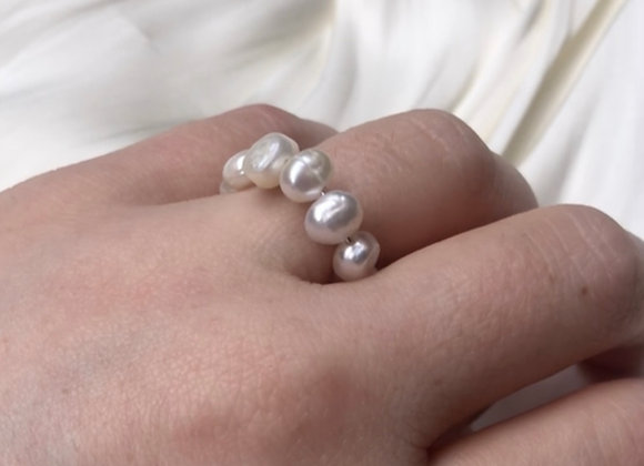 Doen - All Over Pearl Ring