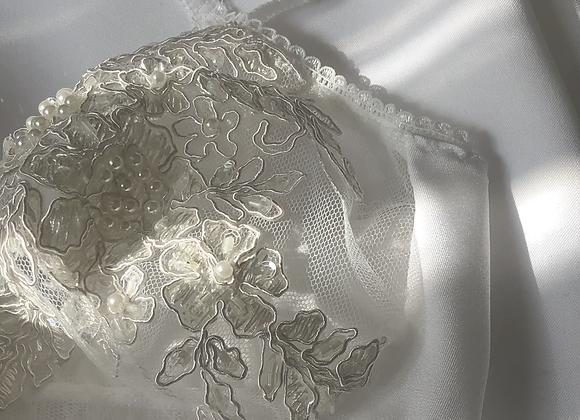 Pearl Embellished Bra