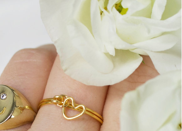 Heart Wire Ring