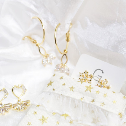 Gold Jewellery Mystery Stocking Boxes