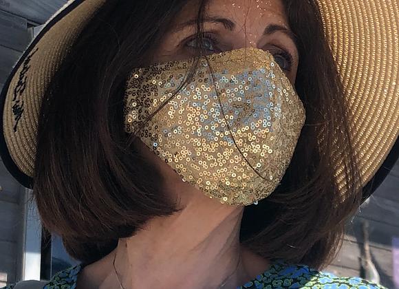 Sequin Face Masks