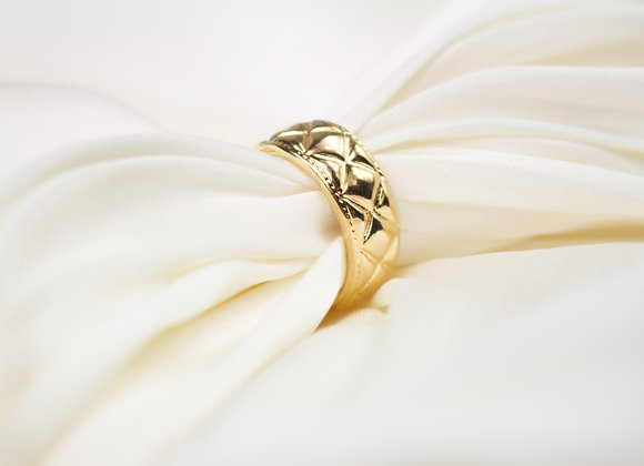 Quilted Ring