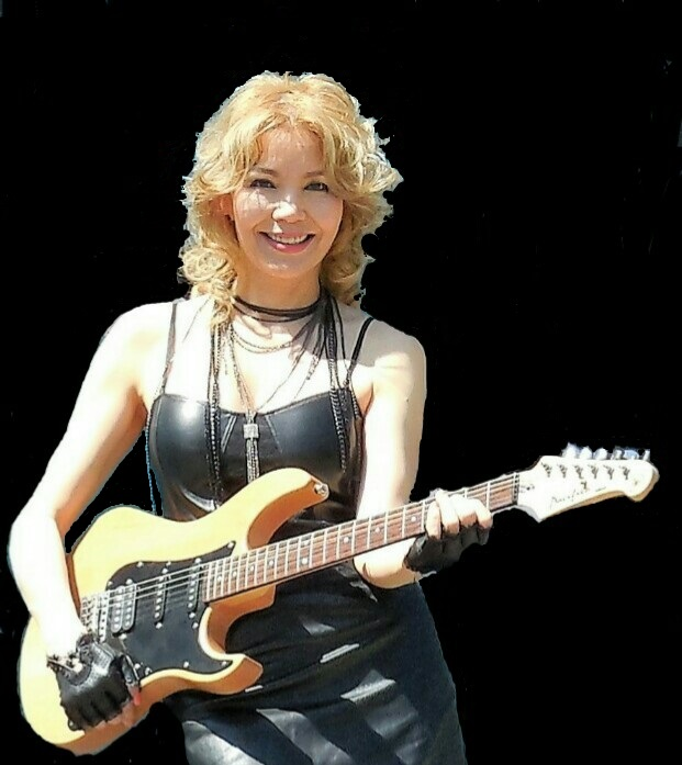 Aida KALY & guitar