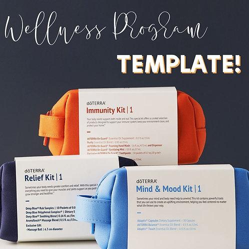 Wellness Programs Facebook Workshop Template
