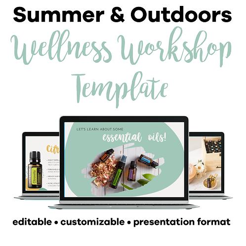 Summer & Outdoors Class Template