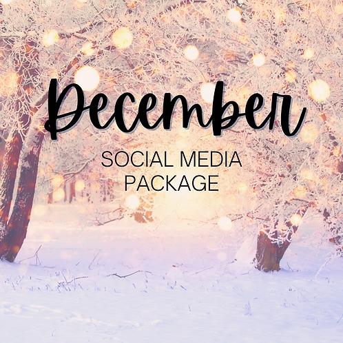 December Social Media