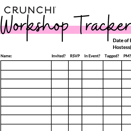 Workshop Tracker