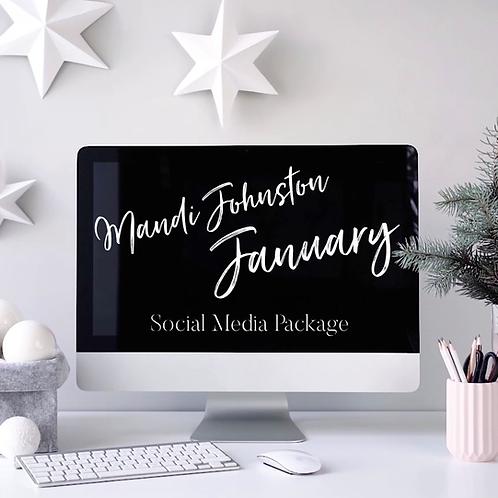 January Social Media Package
