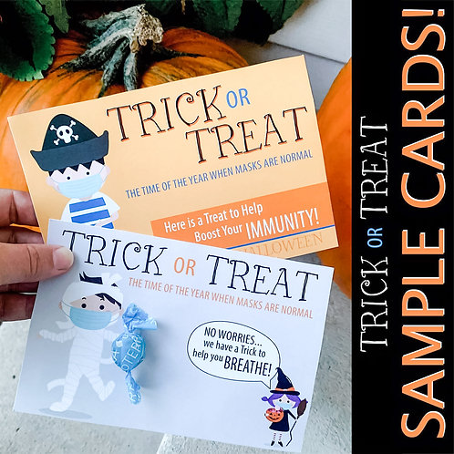 Halloween Sample Cards
