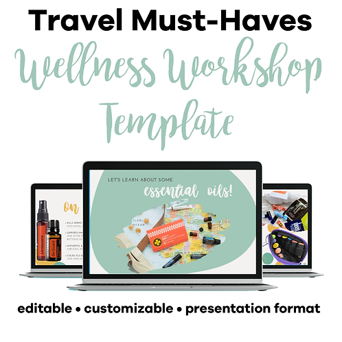 Travel Must-Haves Class Template