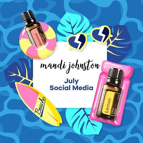 July Social Media Package