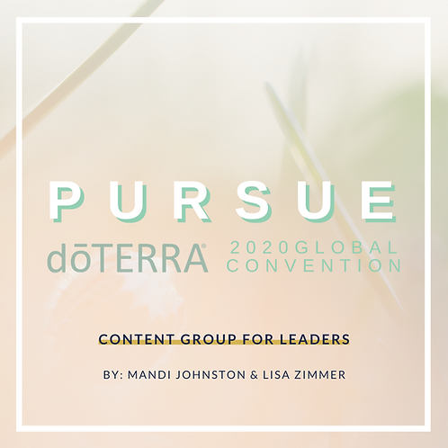 Pursue - Convention Education Group