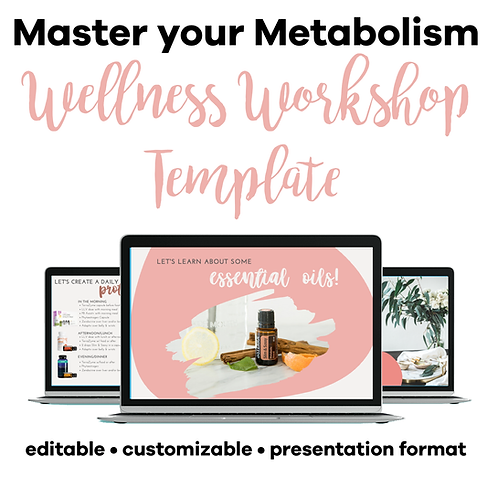 Master your Metabolism Class Template