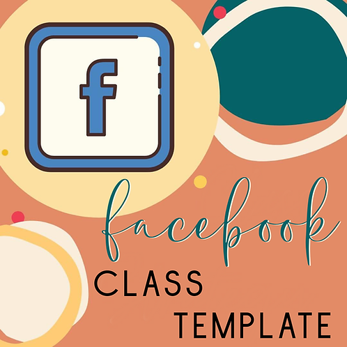 Facebook Workshop Template