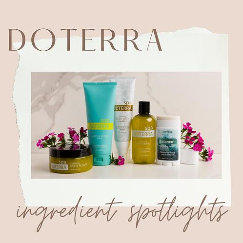 Ingredient Spotlight Mini Workshop