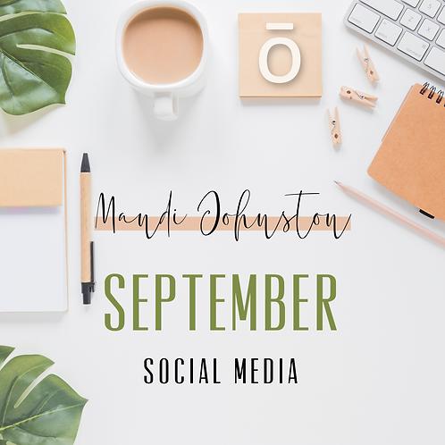 September Social Media