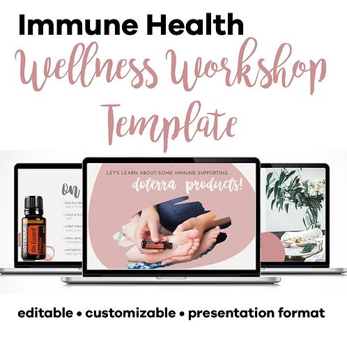Immune Health Class Template