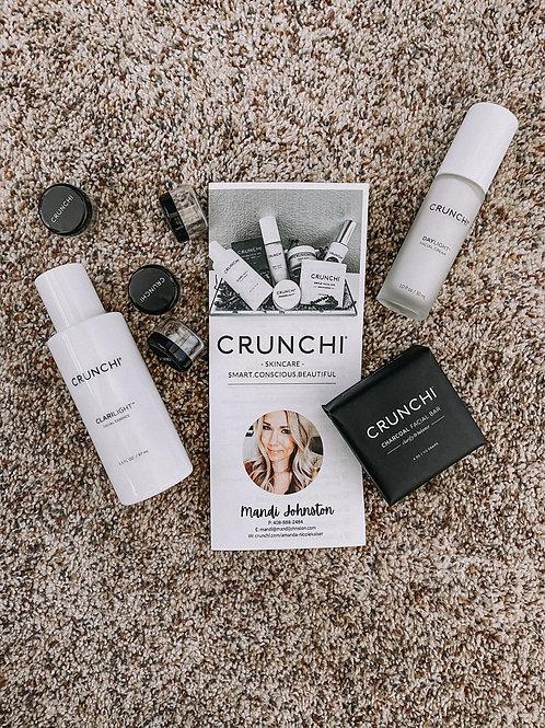 Crunchi Skincare TriFold Brochure