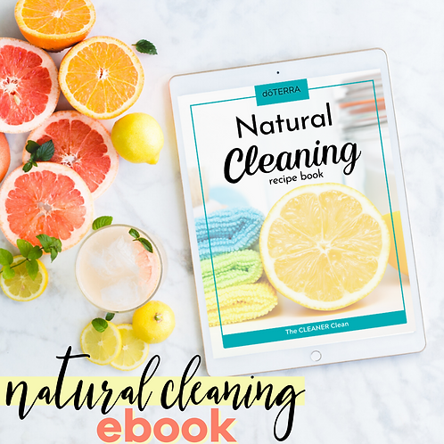 Natural Cleaning Recipe Ebook