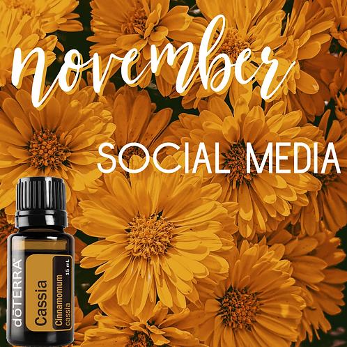 November Social Media