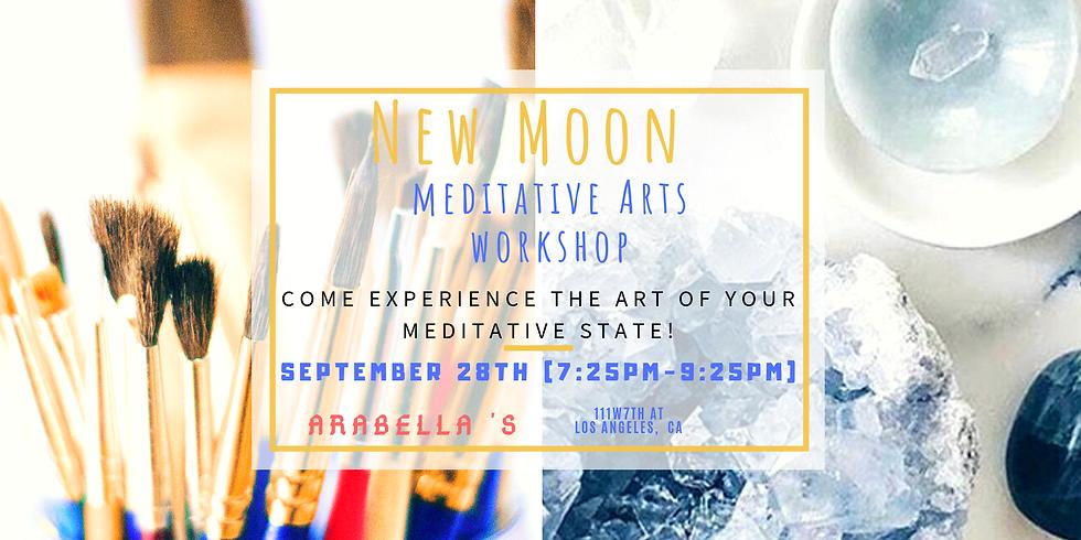 New Moon Meditative Art Workshop