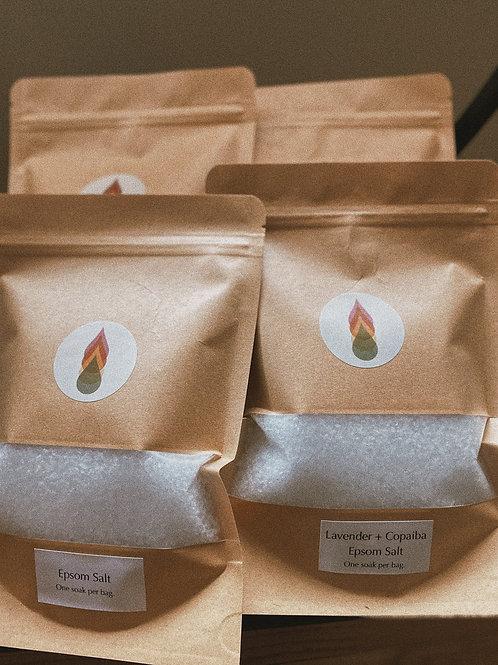 Small Batch Epsom Salt Soaks