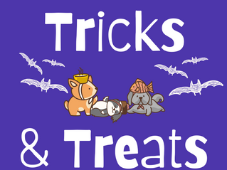 Save the Date: Tricks and Treats!