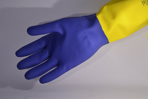 LUVA YELING NEOPRENE LATEX BICOLOR