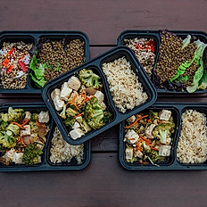 Five Meals per week (of your choice)