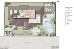 4 çatı kat planı