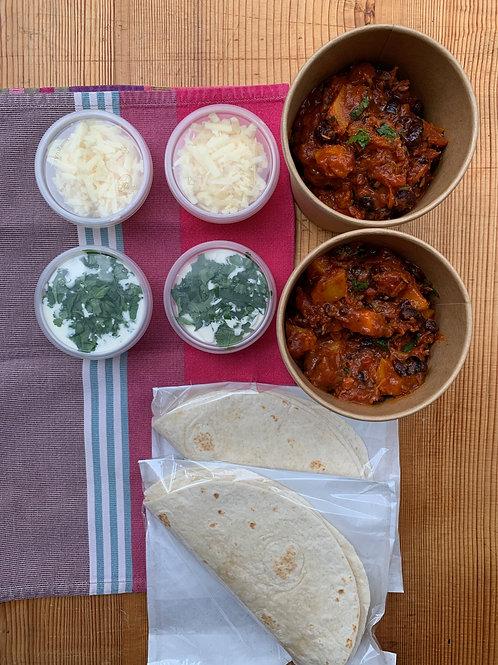 DIY Burrito Kit serves 2