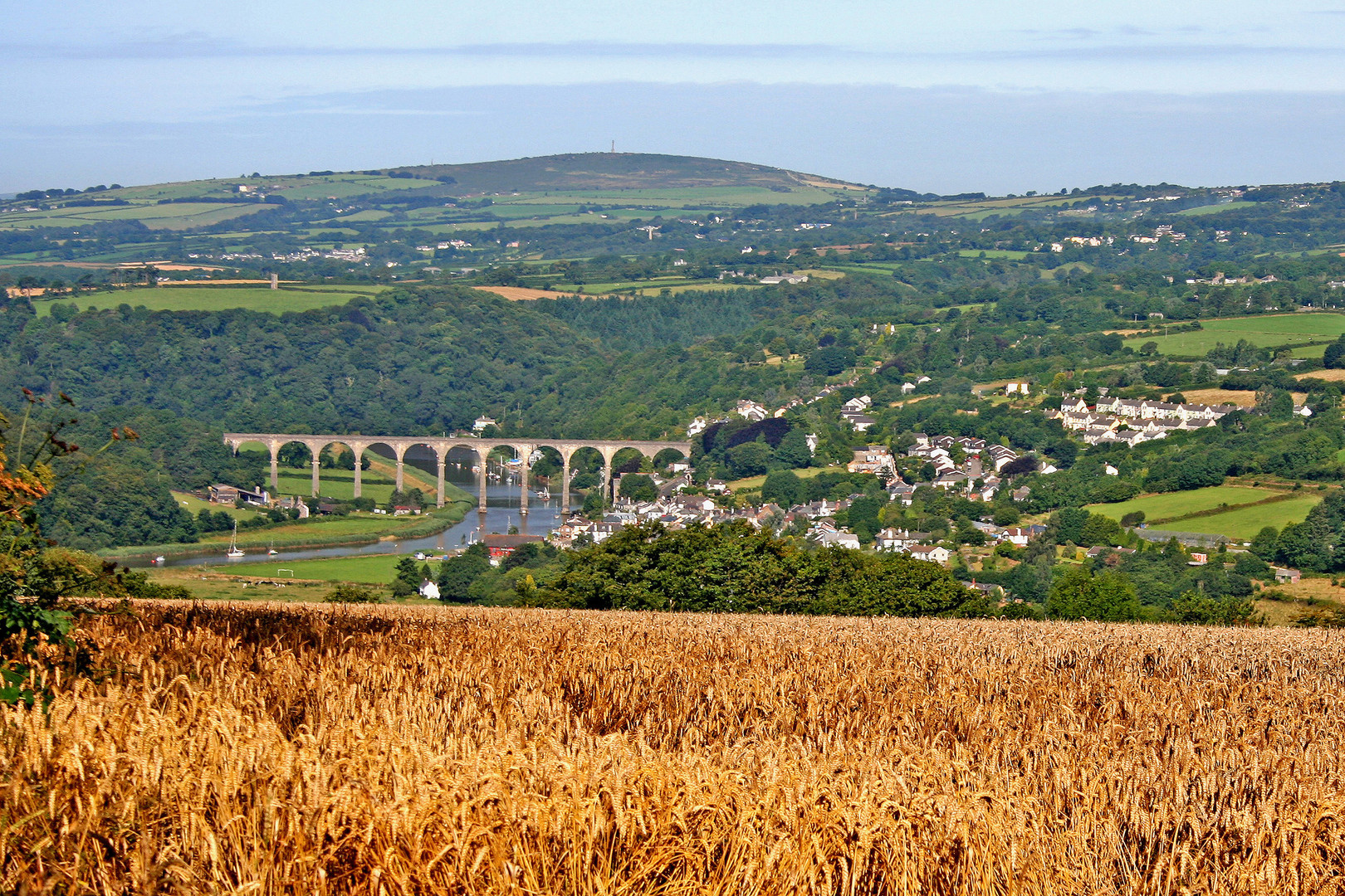 Tamar Valley - Barry Gamble © Cornwall Council