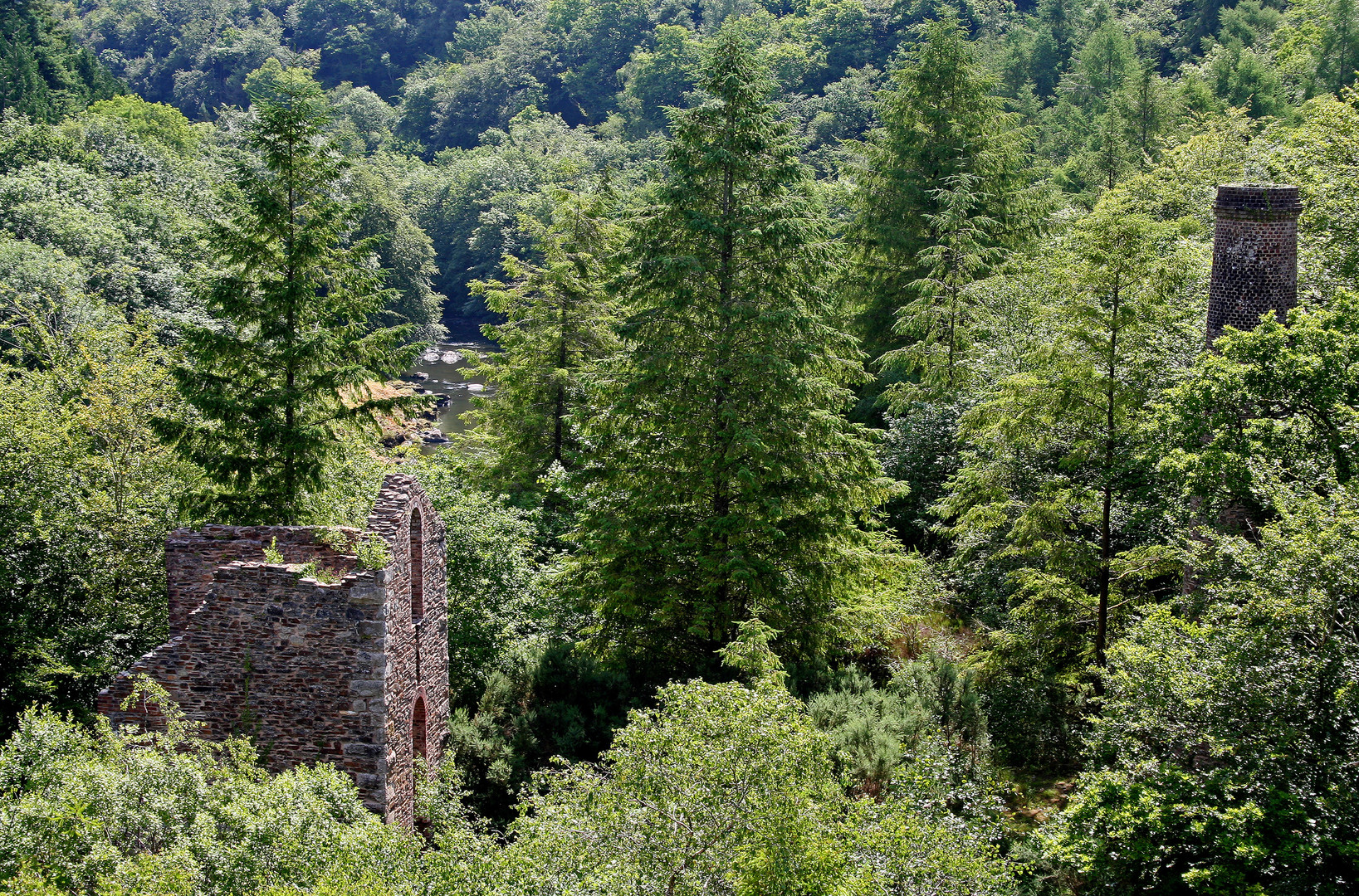 Gunnislake Clitters Riverside Engine House - Barry Gamble © Cornwall Council