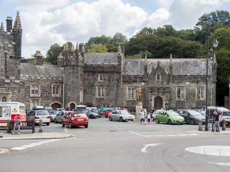 """Tavistock Guildhall - """"The least possible delay"""""""