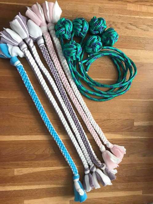Rope and ball toys