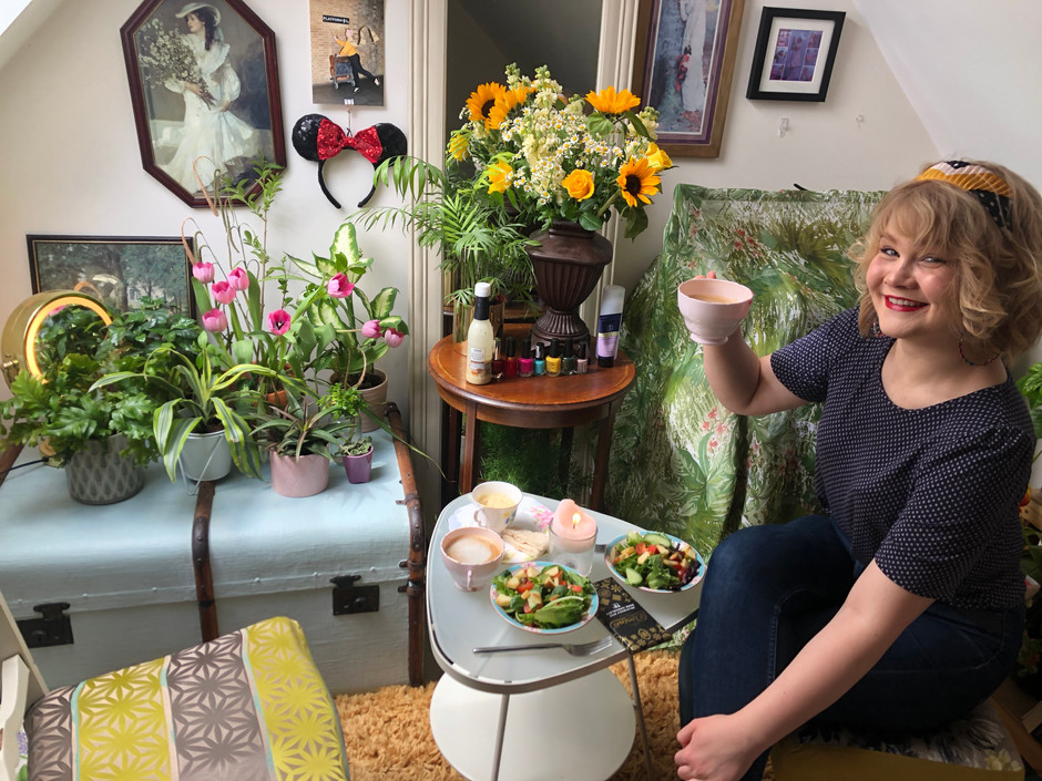 The Bedroom Botanical Tearoom: 13 Days With Covid