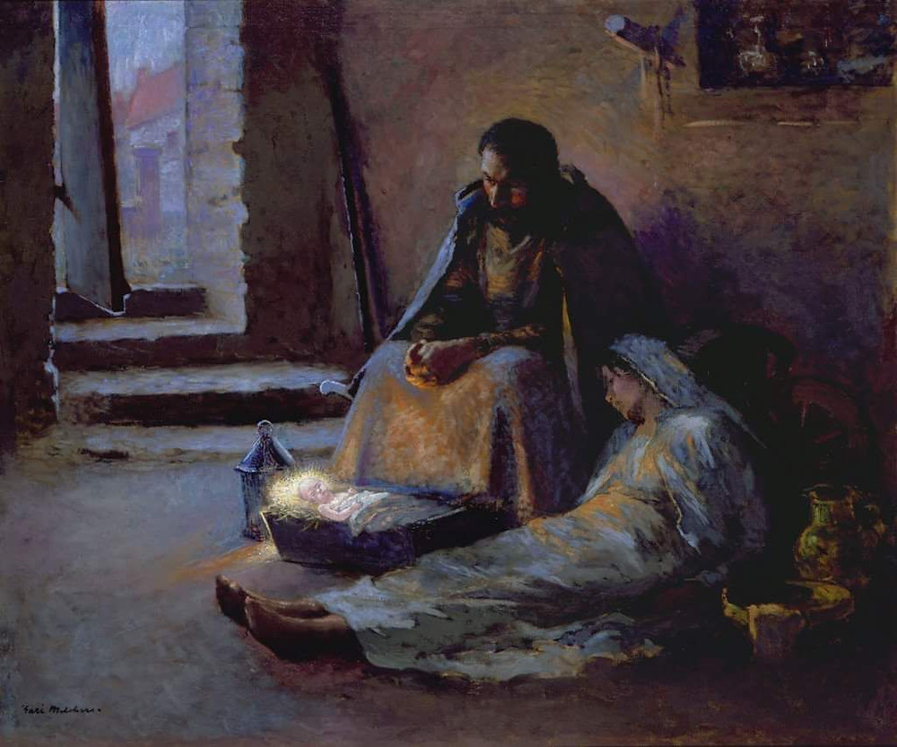 A Light in the Cellar by Gary Melchers 1891