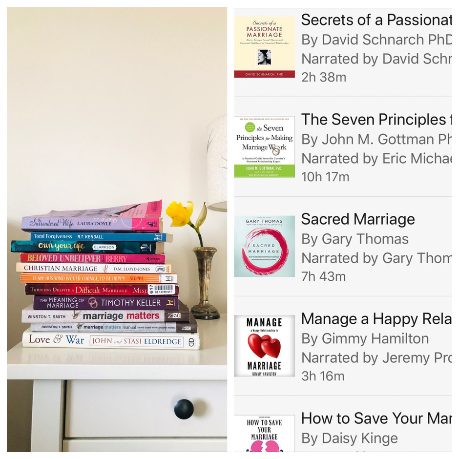 Marriage Books Are Scary & Giveaway News!