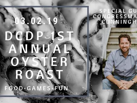 Rep. Cunningham; Sens. Cory Booker, Sherrod Brown to headline Dorchester Oyster Roast