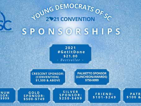 Become a 2021 Convention Sponsor!