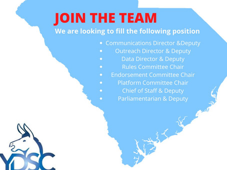 Now Appointing!!!