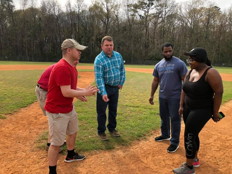 Ashley Cooper Plays Kickball with Charleston Young Republicans