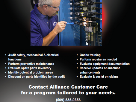 Preventive Maintenance Program Helps Prevent Downtime